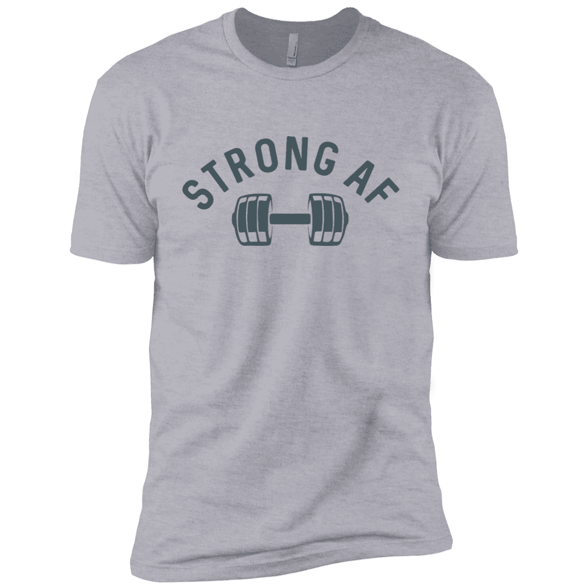 T-Shirts Heather Grey / X-Small Strong AF XC Tee