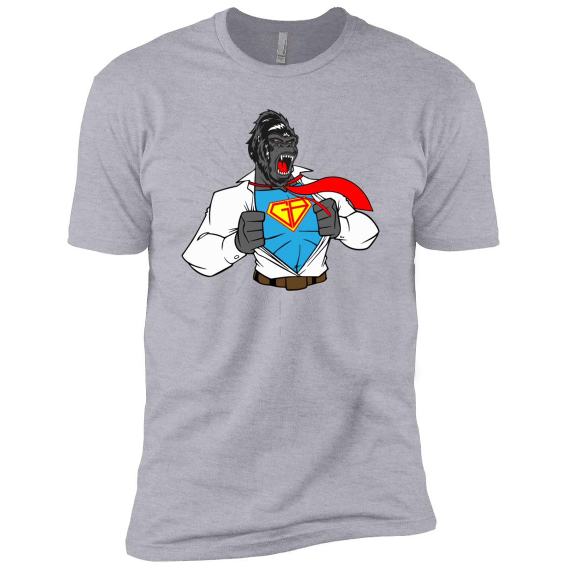 T-Shirts Heather Grey / X-Small SuperRilla Men's Extra Comfort Tee