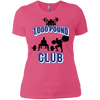 T-Shirts Hot Pink / X-Small 1,000 Pound Club Women's XC Tee