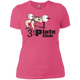 T-Shirts Hot Pink / X-Small 3-Plate Club Women's XC Tee