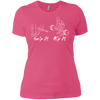 T-Shirts Hot Pink / X-Small Grip And Rip Women's XC Tee