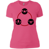 T-Shirts Hot Pink / X-Small Holy Trinity Women's XC Tee