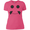 T-Shirts Hot Pink / X-Small Iron Smiley Women's XC Tee