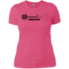 T-Shirts Hot Pink / X-Small Loading Barbell Women's Extra Comfort Tee