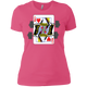 T-Shirts Hot Pink / X-Small Queen Of Squats Women's XC Tee