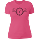 T-Shirts Hot Pink / X-Small Squat O'Clock Women's XC Tee