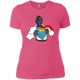 T-Shirts Hot Pink / X-Small SuperRilla Women's Extra Comfort Tee