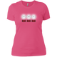 T-Shirts Hot Pink / X-Small White Lights Women's XC Tee