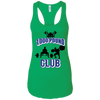 T-Shirts Kelly Green / X-Small 1,000 Pound Club Racerback Tank