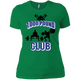 T-Shirts Kelly Green / X-Small 1,000 Pound Club Women's XC Tee