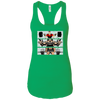 T-Shirts Kelly Green / X-Small Big Three Women's Racerback Tank