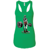 T-Shirts Kelly Green / X-Small Dead Man's Lift Racerback Tank