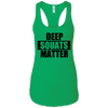 T-Shirts Kelly Green / X-Small Deep Squats Matter Racerback Tank