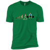 T-Shirts Kelly Green / X-Small Evolution (Color) XC Tee