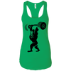 T-Shirts Kelly Green / X-Small Gorilla Press Racerback Tank