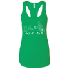 T-Shirts Kelly Green / X-Small Grip And Rip Racerback Tank