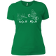 T-Shirts Kelly Green / X-Small Grip And Rip Women's XC Tee