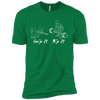 T-Shirts Kelly Green / X-Small Grip And Rip XC Tee