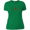 T-Shirts Kelly Green / X-Small Heartbeat Women's XC Tee