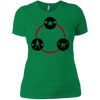 T-Shirts Kelly Green / X-Small Holy Trinity Women's XC Tee