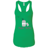 T-Shirts Kelly Green / X-Small Poppin' Bottles Racerback Tank