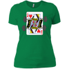 T-Shirts Kelly Green / X-Small Queen Of Squats Women's XC Tee