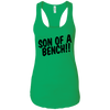 T-Shirts Kelly Green / X-Small Son Of A Bench!! Racerback Tank