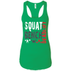 T-Shirts Kelly Green / X-Small Squat Bench Deadlift Racerback Tank