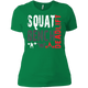 T-Shirts Kelly Green / X-Small Squat Bench Deadlift Women's XC Tee