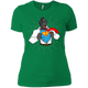 T-Shirts Kelly Green / X-Small SuperRilla Women's Extra Comfort Tee