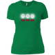 T-Shirts Kelly Green / X-Small White Lights Women's XC Tee
