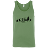 T-Shirts Leaf Green / X-Small Evolution Tank Top