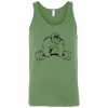 T-Shirts Leaf Green / X-Small Gorilla Strength Tank Top