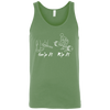 T-Shirts Leaf Green / X-Small Grip And Rip Tank Top