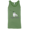 T-Shirts Leaf Green / X-Small Poppin' Bottles Tank Top