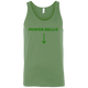 T-Shirts Leaf Green / X-Small Power Belly Tank Top