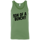 T-Shirts Leaf Green / X-Small Son Of A Bench!! Tank Top