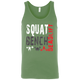 T-Shirts Leaf Green / X-Small Squat Bench Deadlift Tank Top