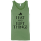"T-Shirts Leaf / X-Small ""I Eat And I Lift Things"" Tank Top"