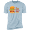 T-Shirts Light Blue / X-Small Anatomy Of A Burger XC Tee