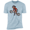 T-Shirts Light Blue / X-Small Captain HookGrip XC Tee