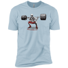 T-Shirts Light Blue / X-Small Dead Man's Squat XC Tee