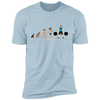T-Shirts Light Blue / X-Small Evolution (Color) XC Tee