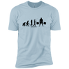 T-Shirts Light Blue / X-Small Evolution XC Tee