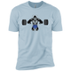 T-Shirts Light Blue / X-Small Gorilla Bench XC Tee