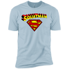 T-Shirts Light Blue / X-Small Squatman XC Tee