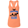 T-Shirts Light Orange / X-Small 1,000 Pound Club Racerback Tank
