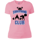 T-Shirts Light Pink / X-Small 1,000 Pound Club Women's XC Tee