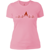 T-Shirts Light Pink / X-Small Heartbeat Women's XC Tee