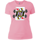 T-Shirts Light Pink / X-Small Queen Of Squats Women's XC Tee